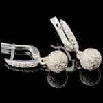 Серебряные серьги 925 пробы арт. 746с