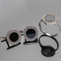 Срібний браслет з фіанітами арт. 264б