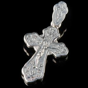 Серебряный Крест 925 пробы арт. 733кр