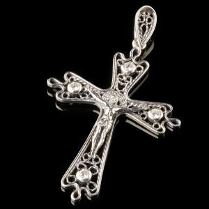 Серебряный Крест 925 пробы арт. 752кр