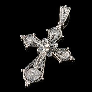 Серебряный Крест 925 пробы арт. 767кр