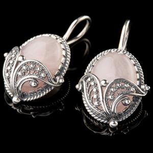 Серебряные сережки 925 пробы  арт. 757с