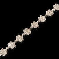 Срібний браслет з фіанітами арт. 258б