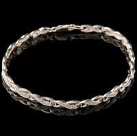 Срібний браслет з фіанітами арт. 591б