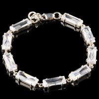Срібний браслет з фіанітами арт. 756б