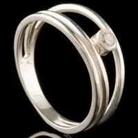Серебряное кольцо 925 пробы  арт. 1003к